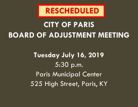 BOA Meeting Announcements